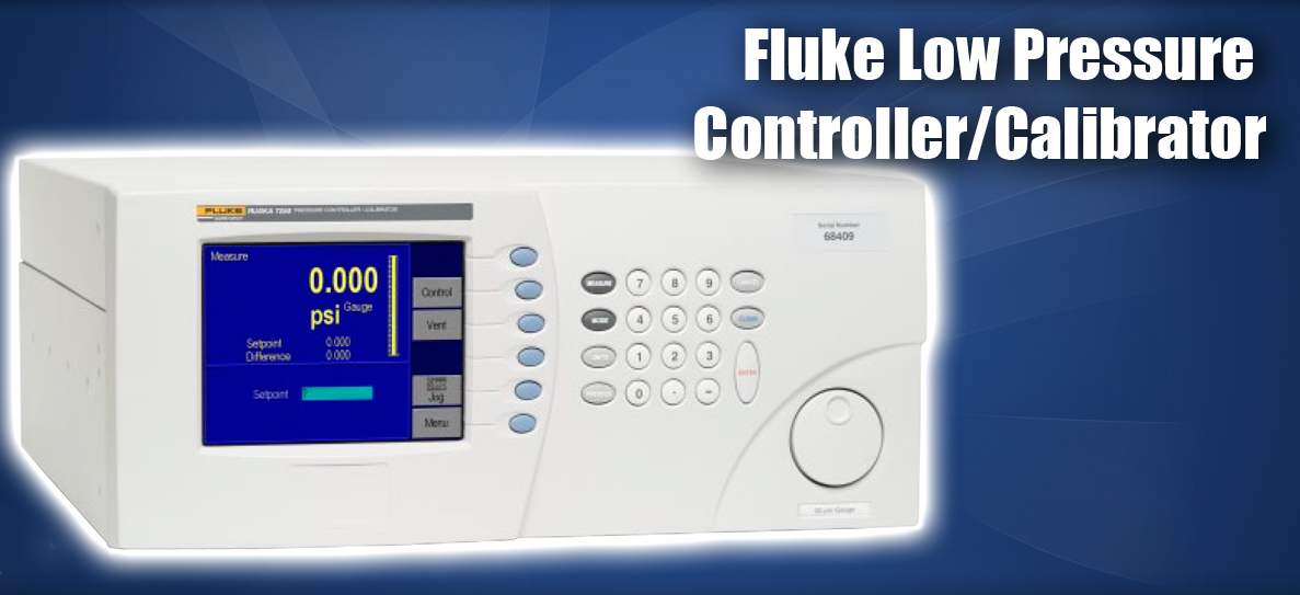 7250LP Fluke Low Pressure Controller Calibrator