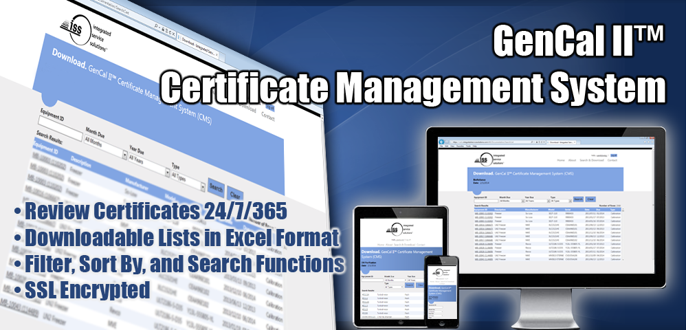 Certificate Management System - Integrated Service Solutions