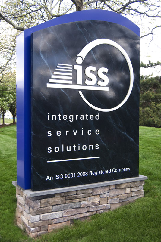 Integrated Service Solutions Sign
