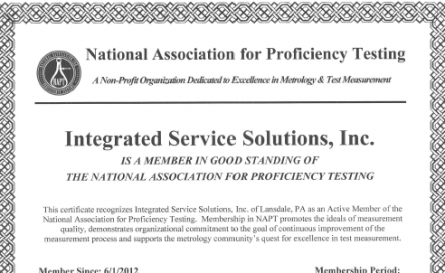 NAPT-Proficency-Testing-2016 Accreditation